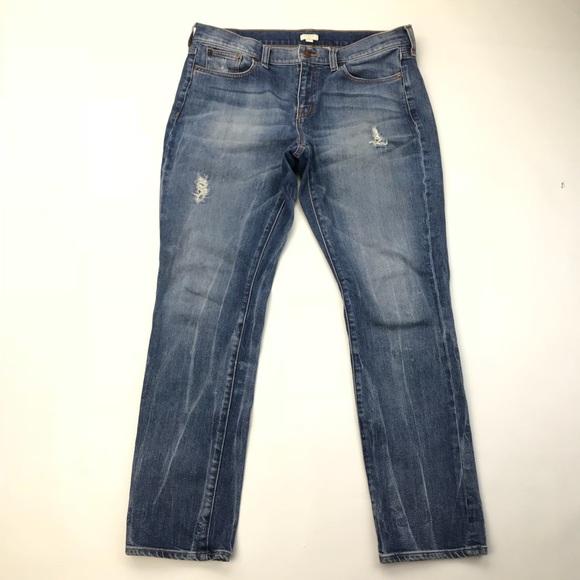 f8d65e9663 J. Crew Denim - J.CREW Heath wash Slim Boyfriend Jeans Distressed